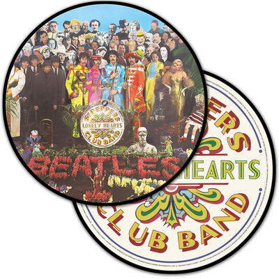 The Beatles: Sgt. Pepper's Lonely Hearts Club Band Anniversary Edition / Remixed 2017 Picture Disc