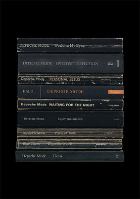 Depeche Mode: 'Violator' Art Print Albums As Books