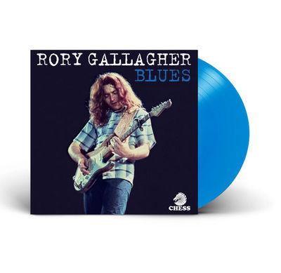 Rory Gallagher: Blues: Exclusive Blue Coloured Vinyl LP