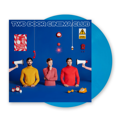 Two Door Cinema Club: False Alarm: Limited Edition Blue Vinyl