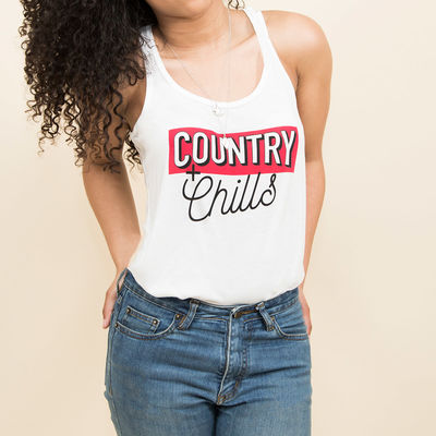 James Barker Band: Country & Chills Tank Top