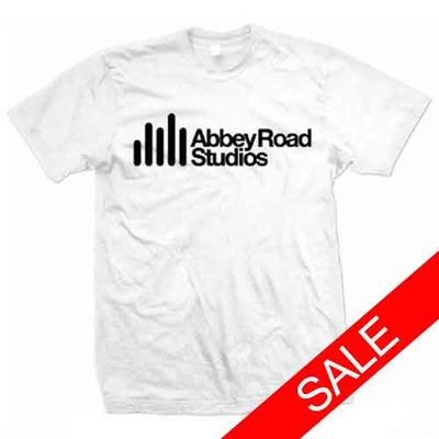 Abbey Road Studios: Abbey Road Studio Logo White Mens T-Shirt