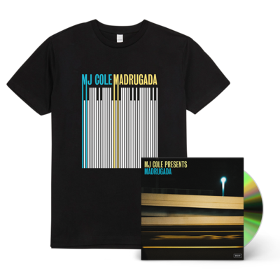 MJ Cole: MJ Cole Presents Madrugada Signed CD and T-shirt Bundle