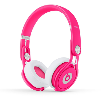 Beats: Mixr On-Ear Headphones - Neon Pink
