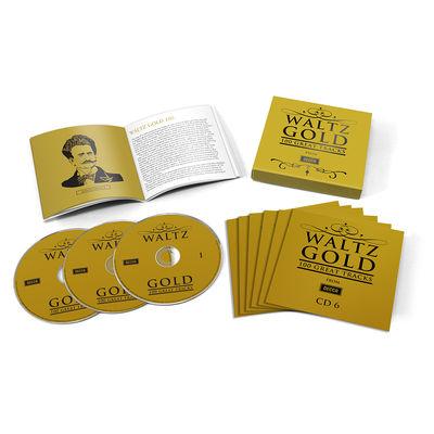 Various Artists: WALTZ GOLD – 100 GREAT TRACKS