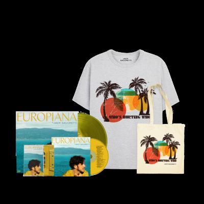 Jack Savoretti: CD, Vinyl, Cassettee, Palm Tote & Palm TEE