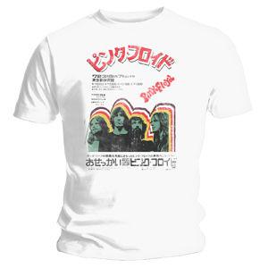 Pink Floyd: Japanese White T-Shirt