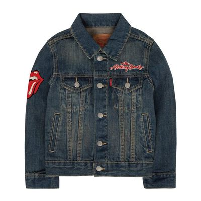 The Rolling Stones: Kids Levis Denim Jacket