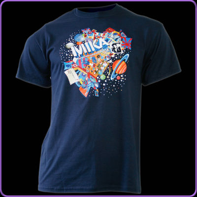 MIKA: BWKTM Album Tour Kids T-Shirt