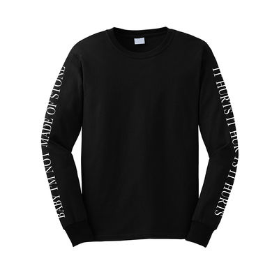 Emeli Sande: Hurts Lyric Black Long Sleeve