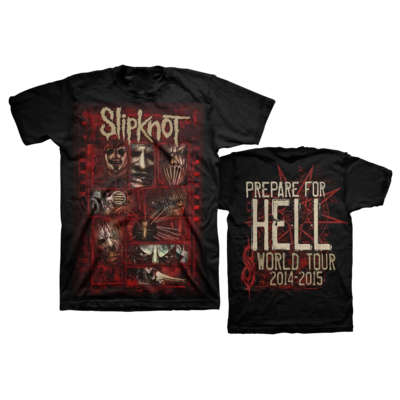 Slipknot: Sketch Boxes T-Shirt