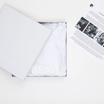 Abbey Road Studios: The Beatles White Album Boxed T-shirt