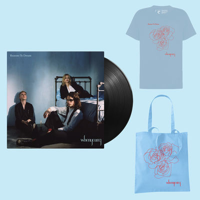 Whenyoung: Blue Tee / Blue Tote / LP Bundle