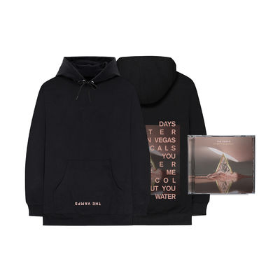 The Vamps: Cherry Blossom CD + Hoodie