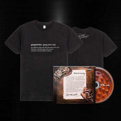 Potter Payper: Thanks for Waiting CD & Gangsteritus - Tee
