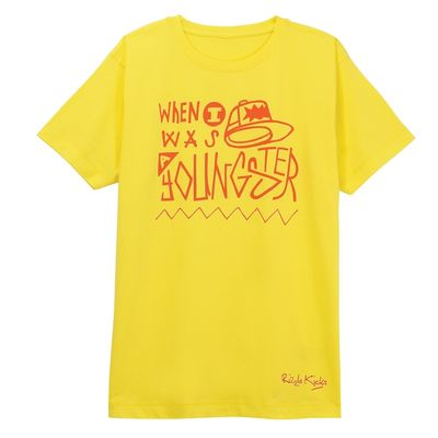 Rizzle Kicks: YOUNGSTER T-SHIRT YELLOW (MENS)