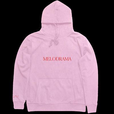 Lorde: Logo Pink Hoodie
