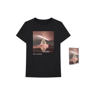 The Vamps: Cherry Blossom Cassette + T-Shirt