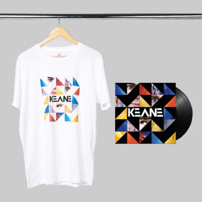 Keane: Perfect Symmetry: LP + White Tee