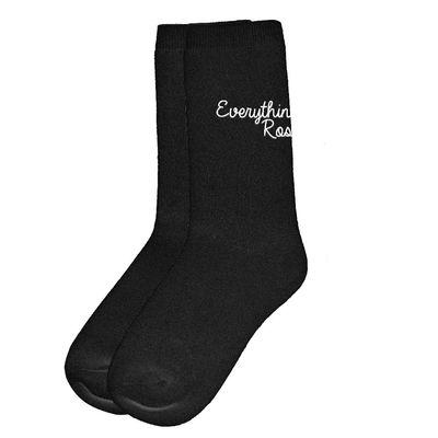 Katy Perry: Everything's Rosy Black Socks