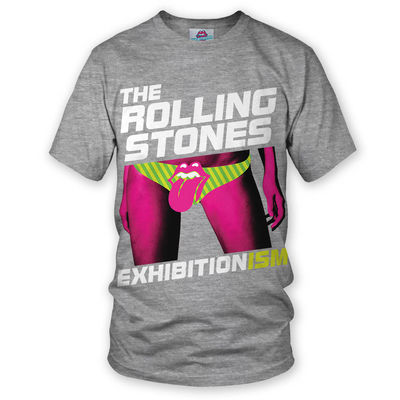 The Rolling Stones: Exhibitionism T-Shirt Grey