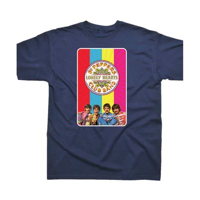 The Beatles: Sgt Pepper Rainbow T-Shirt