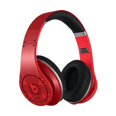 Beats: Studio On-Ear Headphones - Red UK Flag Edition