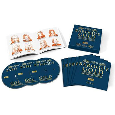 Various Artists: BAROQUE GOLD – 100 GREAT TRACKS