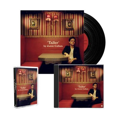 Jamie Cullum: 'Taller' Deluxe CD, Cassette + Vinyl LP Bundle