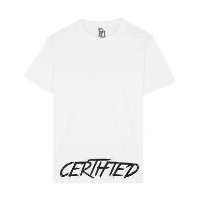 I Play Dirty: CERTIFIED White T-shirt