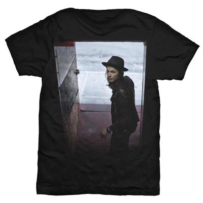 james bay: James Bay Black Album T-Shirt