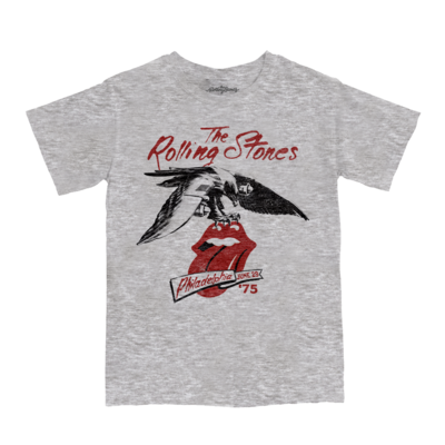 The Rolling Stones: 75 Bootleg Philly T-Shirt