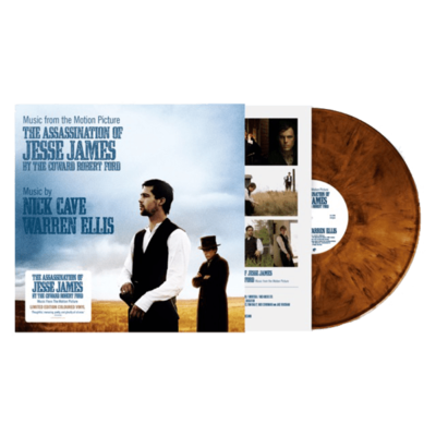 Nick Cave & Warren Ellis: The Assassination of Jesse James: Limited Edition Whiskey Coloured Vinyl