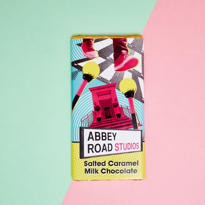 Abbey Road Studios: Abbey Road Landmarks Salted Caramel Chocolate Bar