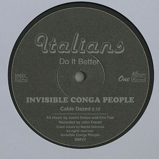 Invisible Conga People: Cable Dazed