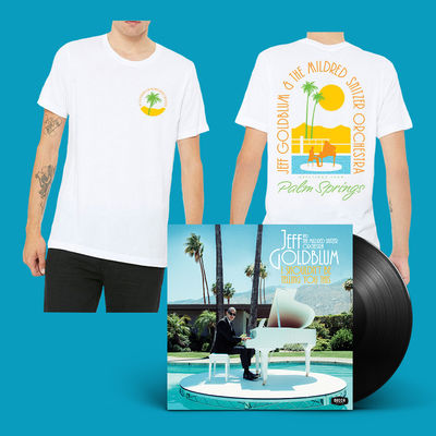 Jeff Goldblum And The Mildred Snitzer Orchestra: Signed LP & Daytime T-shirt Bundle