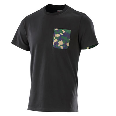 Professor Green: Camo Pocket T-shirt Black