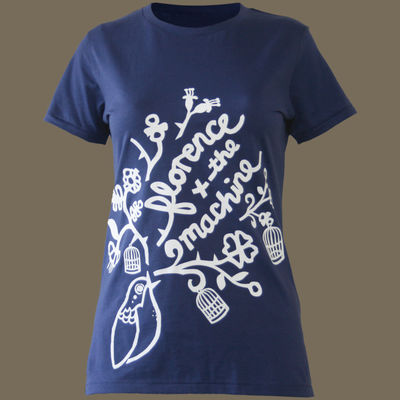 Florence + The Machine: Classic Bird Ladies Skinny T-Shirt