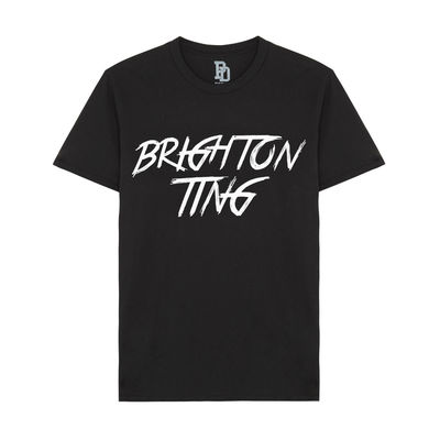I Play Dirty: Brighton Ting Black T-shirt