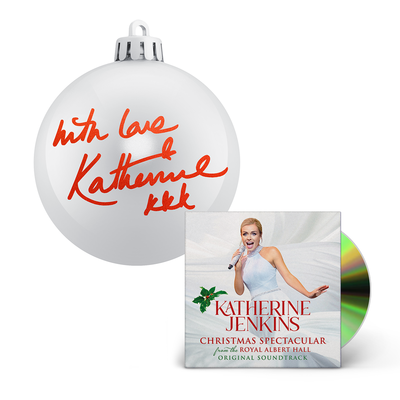 Katherine Jenkins: Christmas Spectacular Signed CD & Bauble Bundle