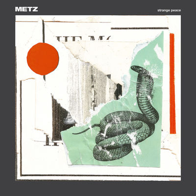 Metz: Strange Peace: Mint Coloured Vinyl