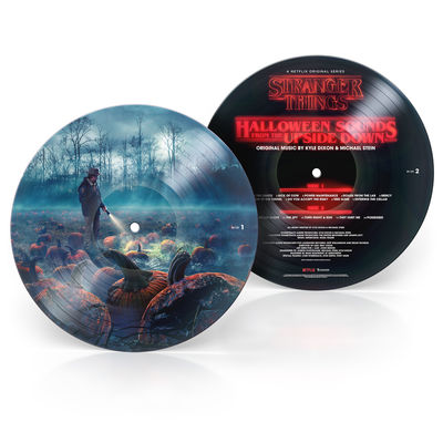 Kyle Dixon & Michael Stein: Stranger Things: Halloween Sounds From The Upside Down - Picture Disc LP