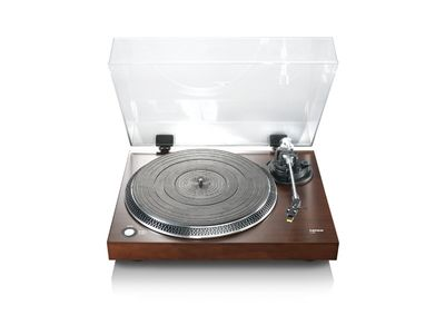 Lenco: Lenco L-90 Walnut Veneer Turntable