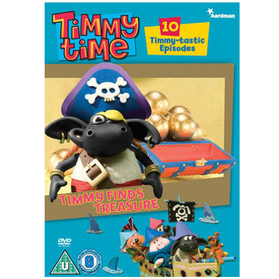 Timmy Time: Timmy Finds Treasure DVD