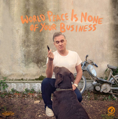 Morrissey: World Peace Is None of Your Business + Album Artcard
