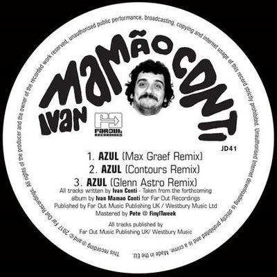 Ivan Conti: Azul (Max Graef, Contours and Glenn Astro Remixes)