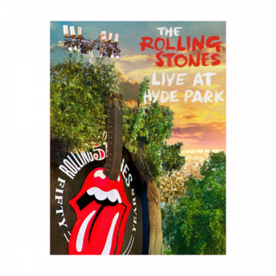 The Rolling Stones: LIVE AT HYDE PARK A2 LITHOGRAPH