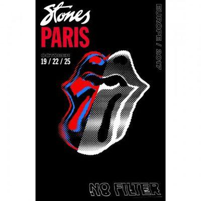 The Rolling Stones: Paris Print