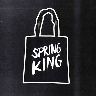 Spring King: Logo Tote Bag (Black)