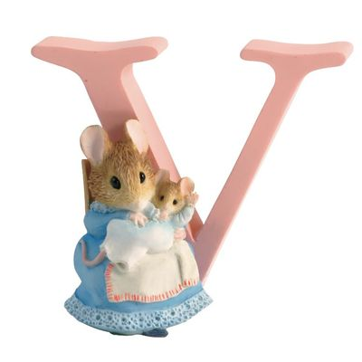 Peter Rabbit: Alphabet Letter V - Hunca Munca and Baby
